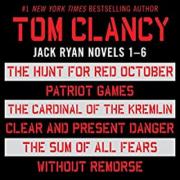 Tom Clancy's Jack Ryan Books 1-6 di [Clancy, Tom]