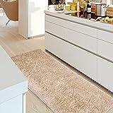 CLLCR Wohnzimmer Mats-Fiber Mats/Küche Schlafzimmer Badezimmer Dusche Wasser Nonlipping Matten/Fußmatte,F,70X150Cm (28X59Inch)