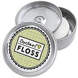 DOCTORS FLOSS | Die wohl schönste Zahnseide der Welt | in Metall-Dose, nachfüllbar | vegan | Minze-Aroma | leicht gewachst | 2x 100m | Geschenkidee (Classy Grass)