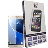 For Samsung Galaxy J7 2016 - 1 Pc Saihan Premium Quality Tempered Glass Samsung Galaxy J7 2016 Screen Protector Guard With Ultra High Definition Invisible, Oleophobic Coating Anti-Bubble Crystal Shield [Free Portable Mobile Stand Included In The Box]