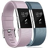 HUMENN Bracelet pour Fitbit Charge 2, Charge 2 Bandes Réglable Remplacement Sport...