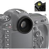 First2savvv Qualité Supérieure DSLR Reflex 22mm OEilleton Pour Nikon D750 D610 D600 D500 D300S D7200 D7100 D7000 D90 D5500 D5300 D5200 D5100 D5000 D3400 D3300 D3200 D3100 D700 D300 D200 D100 D80 D70 D60 D70 D60 DSLR Camera + gradienter