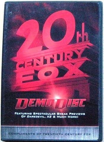 20th Century Fox Demo Disc ~ DareDevil, X2 & Much More! [DVD]