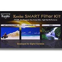 Kenko 67mm Kit de filtros de Triple–negro