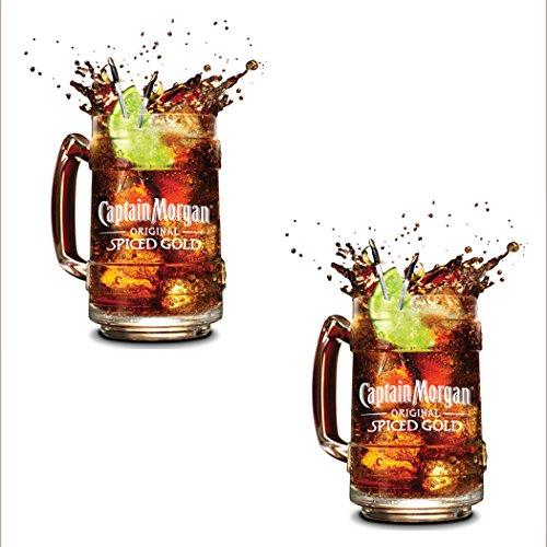 2-x-officielle-edition-limitee-souvenirs-retro-captain-morgan-chope-en-verre-potable-tasse-pot-lunet