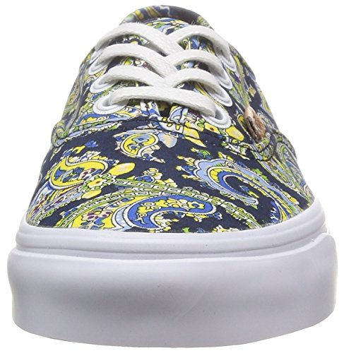 VANS Authentic Paisley dress Blue VN0004OPITN Schuhe Sneaker Blau