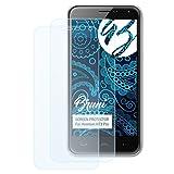 Bruni Schutzfolie für Homtom HT3 Pro Folie, glasklare Bildschirmschutzfolie (2X)