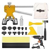 Mookis ausbeulwerkzeug Paintless Auto Dellen Repair Puller Kits 34pcs mit Kleber Heißklebepistole Gummihammer und Beule Lifter usw.