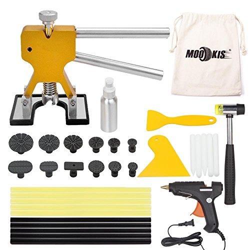 Preisvergleich Produktbild Mookis pdr ausbeulwerkzeug Paintless Auto Dellen Repair Puller Kits 34pcs mit Kleber Heißklebepistole Gummihammer und Beule Lifter usw.