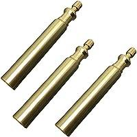 3pcs exterior portátil sello de buceo de bronce collar bin bin impermeable de cobre DIY portalatas EDC regalos de herramientas