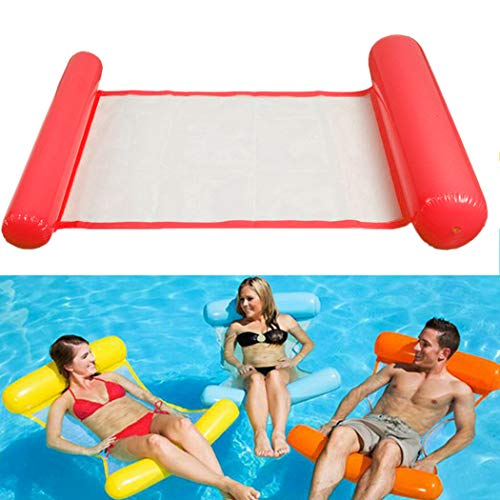 Fansport Water Floating Bed Water Floating Row Aufblasbare Wasser HäNgematte Float Liege (Hängematte Floating Bed)