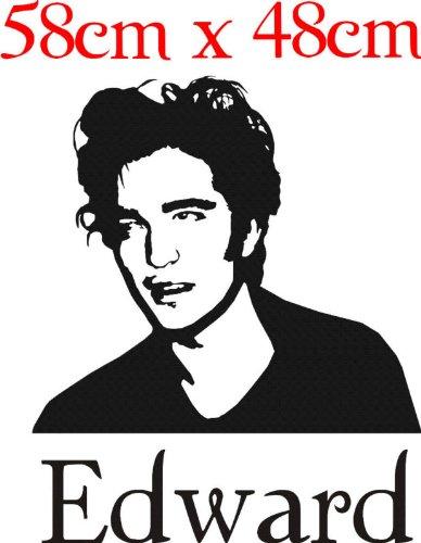 Intercoat Edward Cullen Twilight Art Wand Aufkleber Robert Pattinson - Edward Cullen Design