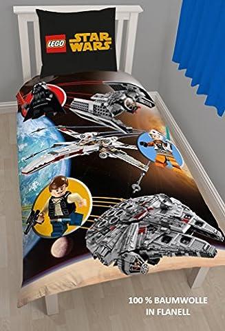 Lego Star Wars enfants réversible motif chaude & confortable Parure