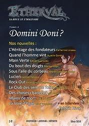 Etherval - Domini doni ?: La revue de l'Imaginaire