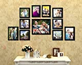 #10: Painting Mantra Memory Wall Photo Frame Set (27 inch x 44 inch, Black, Set of 11)