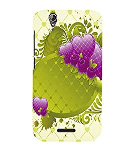 A2ZXSERIES Heart Design Back Case Cover for Acer Liquid Z630