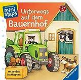 Unterwegs auf dem Bauernhof: Ab 12 Monaten (ministeps Bücher)