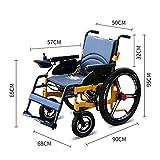 Intelligenter elektrischer Rollstuhl, älterer behinderter Roller-vierradiger elektrischer faltender Rollstuhl-tragbarer Transport-Reise-Stuhl
