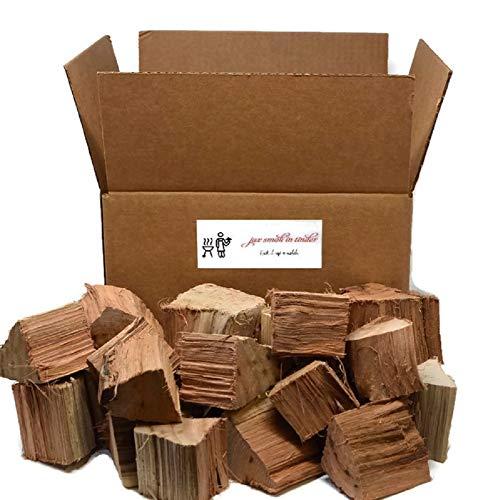 Jax Smok'in Tinder Premium BBQ Grill mit aromatisiertem Holz-Chunks - 4,5 kg Box 10 LB -