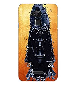 PrintDhaba Skeleton D-3414 Back Case Cover for COOLPAD NOTE 3 LITE (Multi-Coloured)