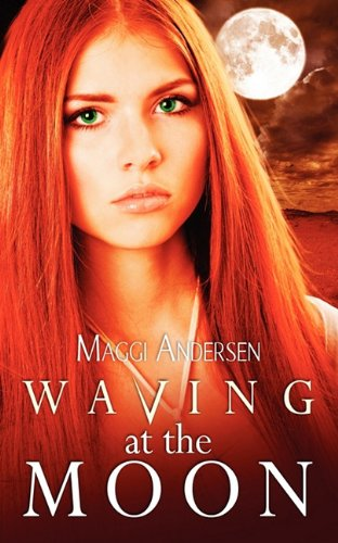 book cover of Waving At The Moon