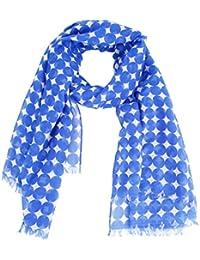 Womens Retro Polka Dot Chiffon Scarf Soft Fabric Neck Wrap Long Chiffon Scarves