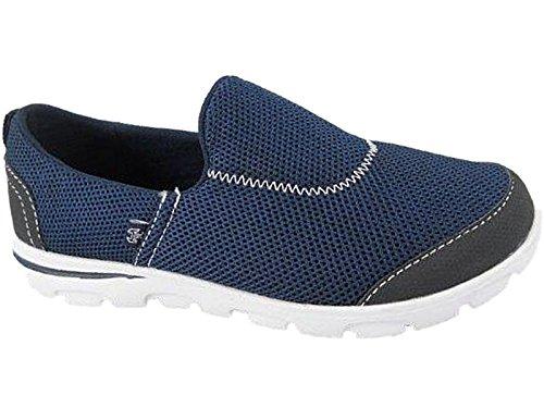 Foster Footwear - Scarpe da ginnastica in tela donna Navy