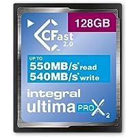 Tarjeta de memoria integral UltimaPro X2, CFast 2,0. 128 GB