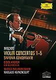 Mozart: Violin Concertos 1-5 [DVD] [2006]