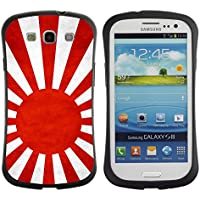 LASTONE PHONE CASE / Suave Silicona Caso Carcasa de Caucho Funda para Samsung Galaxy S3 I9300 / National Flag Nation Country Japanese Naval Ensign