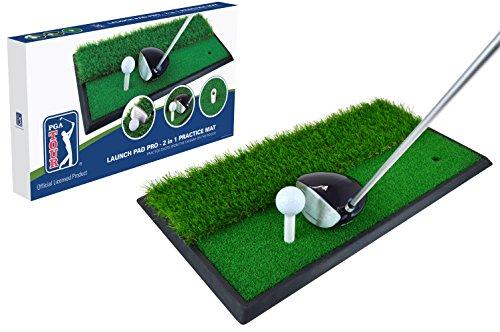 PGA Tour, tappetino 2 in 1 per allenarsi al lancio, colore blu
