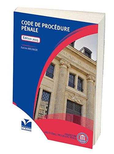 Code de Procédure Pénale 2015