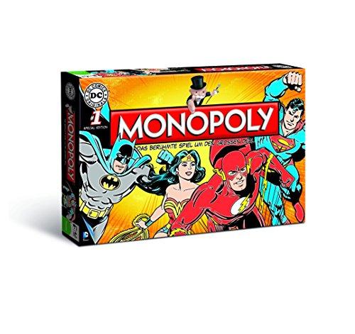 Monopoly DC Originals - eine Hommage an die Helden des DC-Universums! (Deutsch)