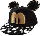 THENICE Kind Hip-Hop Boy Orecchiette Cap Baseball Kappe Hut (schwarz)