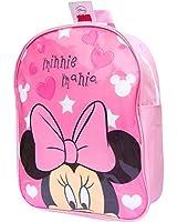 Girl's Disney Minnie Mania Pink School Backpack Travel Bag