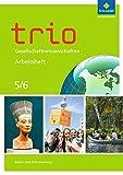 Trio Gesellschaftswissenschaften - Ausgabe 2017 für Berlin und Brandenburg: Arbeitsheft 5 / 6