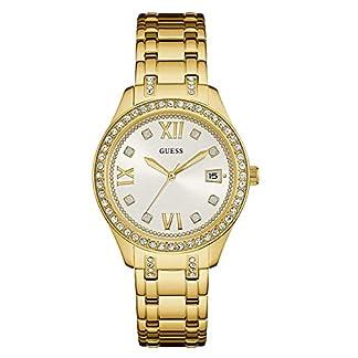 Guess Reloj Análogo clásico para Mujer de Cuarzo con Correa en Acero Inoxidable W0848L2