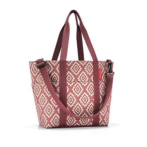 Reisenthel multibag Strandtasche, 50 cm, 15 L, Diamonds Rouge