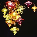 Kasbah Glass String LED lights
