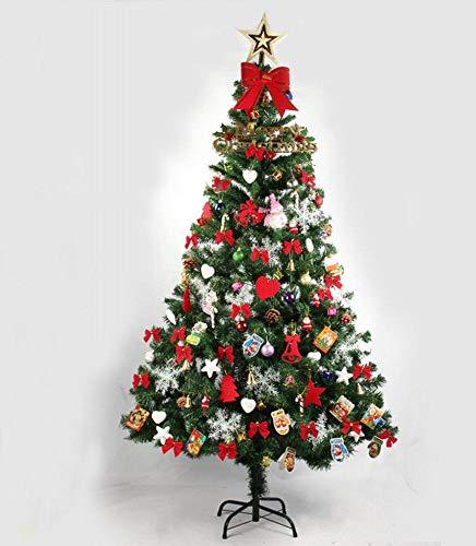 GZ Decorazione Dell\'Albero di Natale 1 M 2 Cifra di Decorazioni Natalizie Cofanetto Natalizio,Colorato,180cm