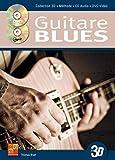 La guitare blues en 3D (1 Livre + 1 CD + 1 DVD)