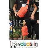 Best Deals - Men's Chest Bag Shoulder Across Bag Canvas Men Small Bag Small Chest Pack Men Shoulder Bag (1 Piece, Random Color/Design Will Be Shipped)