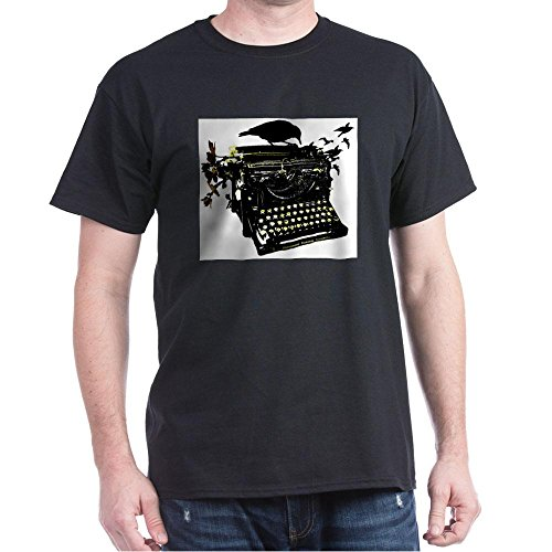 CafePress - Typewriter Dark T-Shirt - 100% Cotton