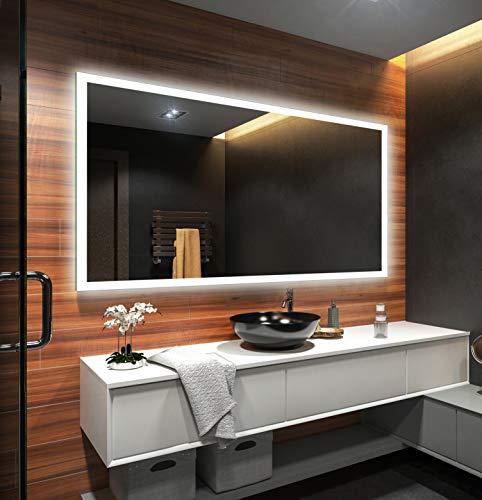Badezimmerspiegel nach Maß mit LED Beleuchtung - 2