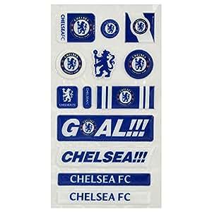 Bulle officiel autocollant Chelsea FC mis 13 pièce
