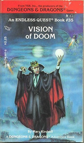 Vision of Doom (Endless Quest Book #35) [a Dungeons & Dragons Adventure Book] by Mary L. Kirchoff (1987-01-01)