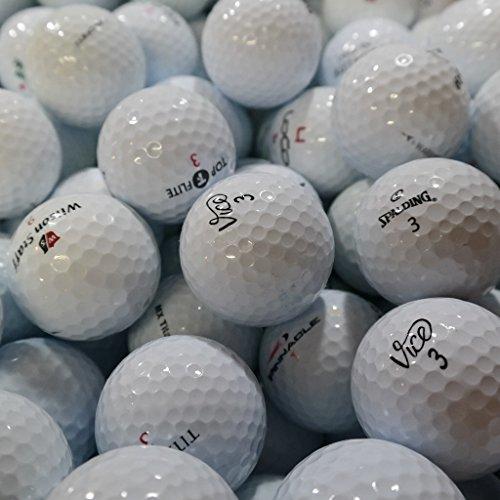 100 Golfbälle Mix AAA - Turnierbälle (100)