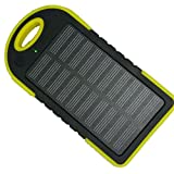#10: Clearance Sale!LED Outdoor Travel Dual USB Solar Mobile Phone Power Bank Case Charger DIY Kit