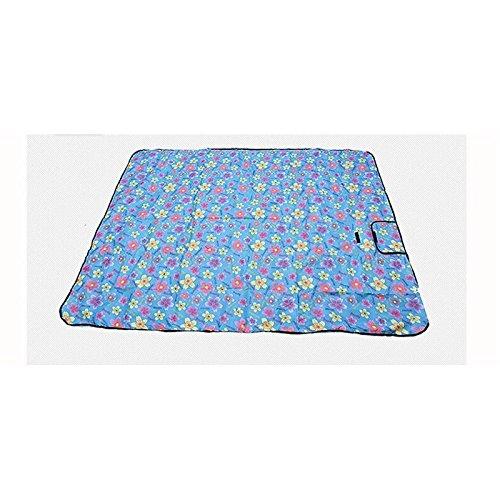 tapis de pique-nique Floral (150 * 130cm) ( couleur : Bleu )