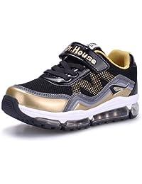 Usay like , Mädchen Sneaker, Schwarz - Schwarz - Größe: 29
